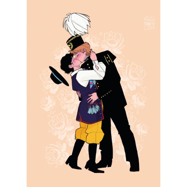 Panna N pocałunek